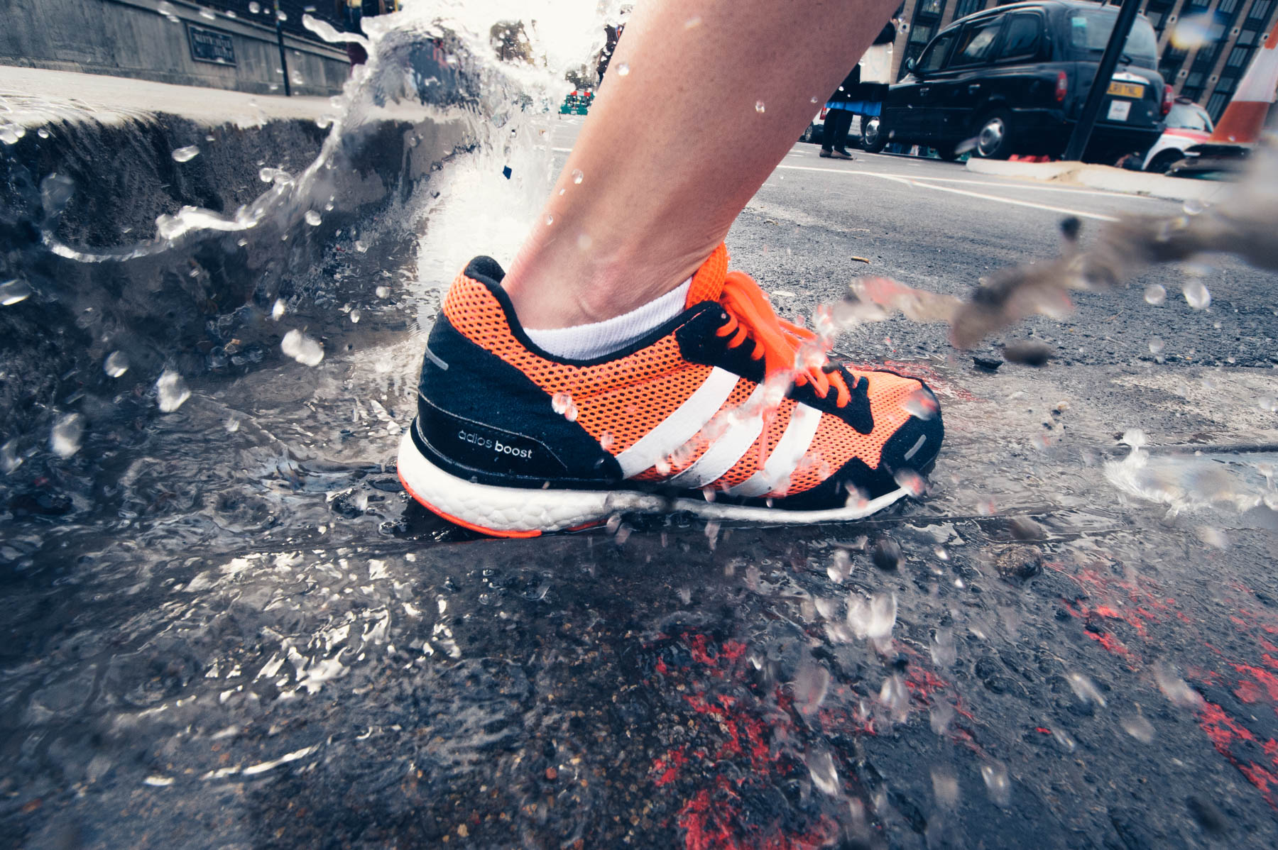 Puddles of the London Marathon - Adidas